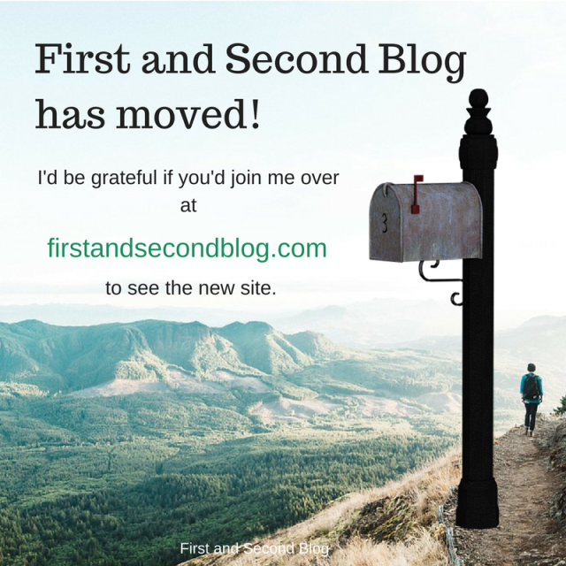 First and Second Blog has moved!